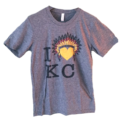I Heart KC Football T-Shirt $20 – For Sale Now!