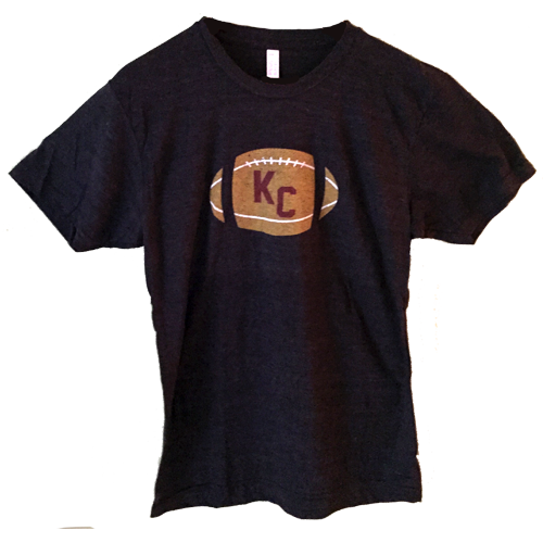 KC Football T-Shirt $20 – For Sale Now!