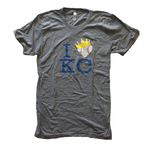 I Heart KC Crown T-Shirt – $20 For Sale Now!