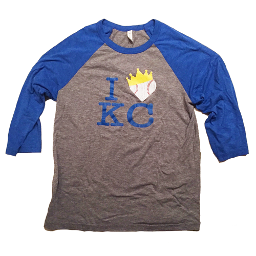 I Heart KC Crown T-Shirt – $25 For Sale Now!