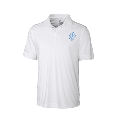 2ab20a05 SME Golf Cutter & Buck Performance Polo Shirt – Unisex Adult – White ...