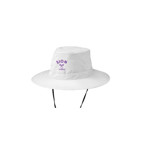 955e5d107ed SION TENNIS White Bucket Hat – All Things Athletic