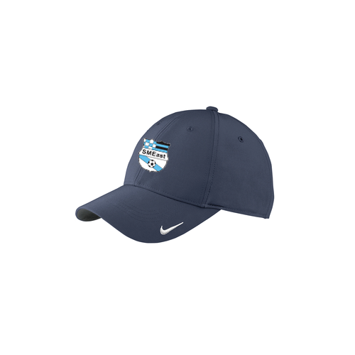c4c25d0358f SME Soccer Nike Performance Baseball Hat – Navy Blue – All Things ...