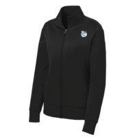 1831c65de8d SME Soccer Midweight Performance Full Zip Jacket – Unisex Youth – Black