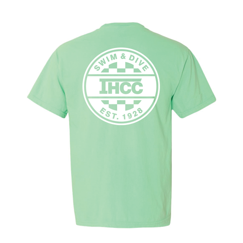Ihcc Vans Logo Comfort Colors Pocket Short Sleeve T Shirt Island Reef